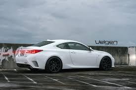 lexus rc f matte black lexus rc 350 f sport velgen wheels
