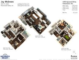 floor plan modern family amazing house plans home custom contemp