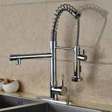 single kitchen sink faucet calvados single handle deck mounted kitchen sink faucet