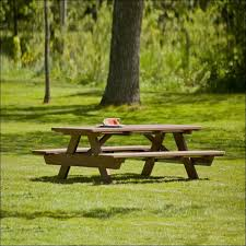 Folding Wood Picnic Table Exteriors Awesome 6 Ft Picnic Table A Frame Wooden Picnic Table