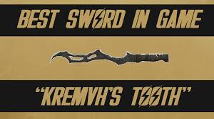 best melee weapon in fallout 4 kremvh s tooth unique weapon