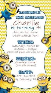 despicable me invitations and party free printables free