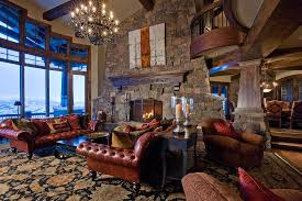 Lodge Interior Design by Ski Dream Home Luxury Mountain Retreat Utah Most Beautiful
