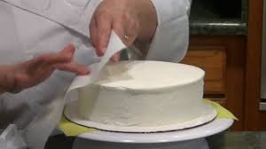 how to smooth buttercream icing on any cake youtube