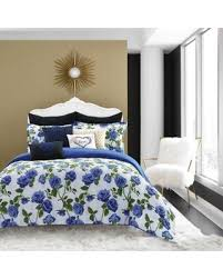 Twin Comforter Sale Deal Alert Betsey Johnson Regal Roses Twin Comforter Set In Blue