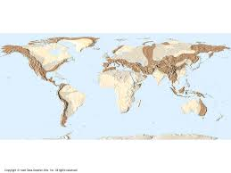 Ural Mountains On World Map by Mts