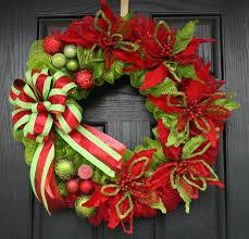 christmas mesh wreaths christmas deco mesh wreaths 82 with christmas deco mesh wreaths home