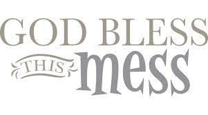 wallpops god bless this mess quote wall decal wayfair default name