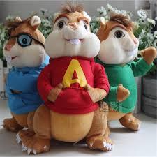 aliexpress buy 1 pc 25cm alvin chipmunks soft plush