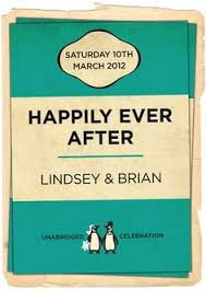 wedding invitations belfast multi colour penguin book cover wedding invitations penguin