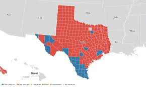 2012 Presidential Election Map by Texas Election Results 2016 Live Maps Polling Analysis