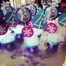 frozen centerpieces lace decorated new years frozen table centerpiece for 2016 new