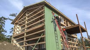 two barns house permabilt pole building garage freeland wa youtube