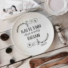 personalized wedding plate personalized wedding plaques wedding gift ideas