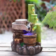 fountain for home decoration resin crafts feng shui water fountain home decoration garden