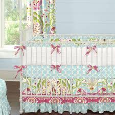 Pink And Blue Crib Bedding Kumari Garden 2 Piece Crib Bedding Set Carousel Designs