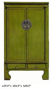 asian dressers lime green lacquer moon cabinet armoire asian