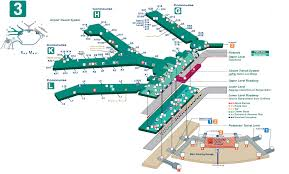 chicago o hare terminal map o hare international airport ord smartcars inc chicago
