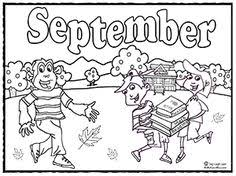 Images Of Photo Albums September Coloring Pages At Coloring Book Coloring Pages For September