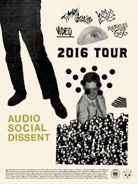 Swank Audio Visual Audio Social Dissent Tour
