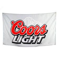 Coors Light Flag Compra Beer Print Advertisements Y Disfruta Del Envío Gratuito En
