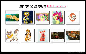 Memes Characters - my top 10 favorite cute characters meme by endlesswire94 on deviantart