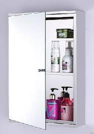 Wall Mounted Mirror Cabinet Wall Hang Bathroom Funiture Stainless Steel Storage Mirror Cabinet