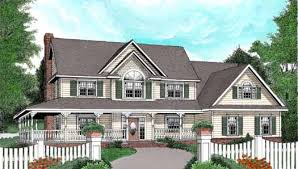 two story house plans with wrap around porch country style house plans plan 13 147