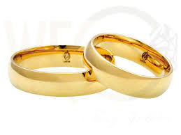 1 5 mm wedding band pair of the yellow gold 5mm wedding rings łk 23z 1 5 mm