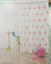 Palm Tree Shower Curtain Walmart by Curtains Clear Flamingo Shower Curtain Pink Shower Curtain Hooks