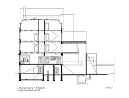 pueblo house plans town house in antwerp sculp it archdaily