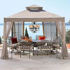 jcpenney outdoor oasis 2010 10 u0027 x 10 u0027 gazebo replacement canopy