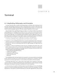 chapter 6 terminal wayfinding and signing guidelines for