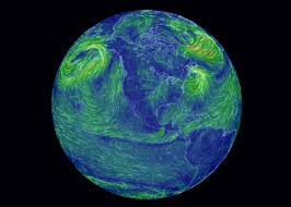 earth wind map global wind map cameron beccario s visualization of world weather