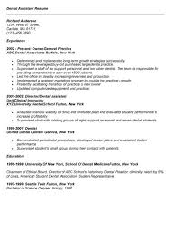 resumes for dental assistants ilivearticles info