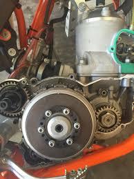 ktm 250sx inner clutch case leaking tech help race shop
