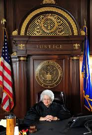 nearing retirement state u0027s first female judge looks back