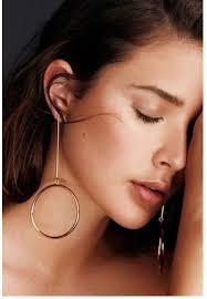 earrings hoops big silver gold color hoop earrings for women pendientes aros