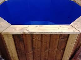 Wood Heated Bathtub Wood Fired Bathtub 2 2 Meter Thermally Modified Wood