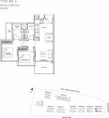 the glades condo floor plan u2013 2br loft u2013 b8 l u2013 80 sqm 861 sqft