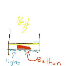 designing a bed project my idea is to make a design a bed that can light up