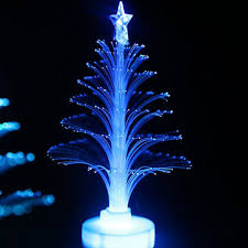 sale colorful led fiber optic tree light for