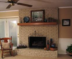 choosing paint for brick fireplace brick anew blog