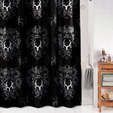 White And Yellow Shower Curtain Black And Gray Shower Curtain Night Sky Black And Gray Shower
