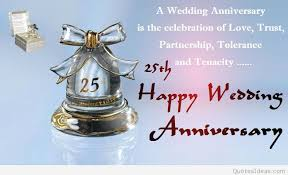 Wedding Quotes For Brother Happy 25rd Marriage Anniversary Quotes Wishes On Pics