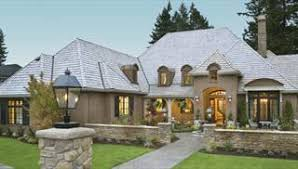 Country French House Plans  Euro Style Home Designs By THD - French country home design