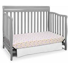 Graco Stanton 4 In 1 Convertible Crib Graco Stanton 4 In 1 Convertible Crib Pebble Gray Ebay