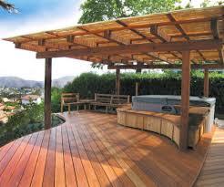 prefab deck kits home depot pergola lawn master 4 patio arbor