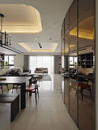 Apartment Interior Design Contemporary Taiwan Apartment Showing Luxury And Simplicity In