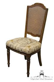 Ethan Allen Dining Table Chairs Used by High End Used Furniture Ethan Allen Classic Manor Cane Back Side